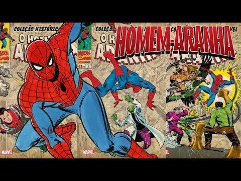 Coleção Histórica Marvel:Homem Aranha (Mathvlog)