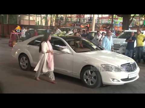 UNCUT: Aadesh Shrivastav Prayer Meet Amitabh bachchan Aishwarya Bachchan !!!
