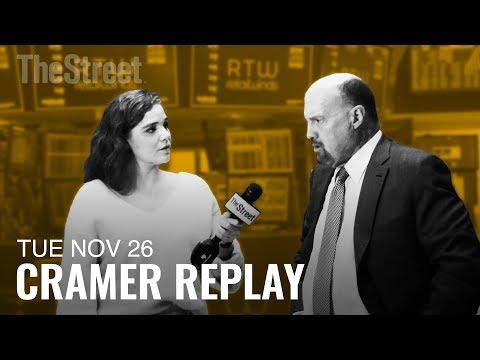 Jim Cramer on the Strength of the Consumer, E*Trade and Robinhood