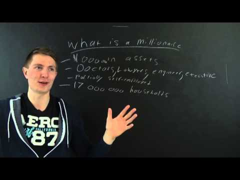 Becoming a Millionaire - Millionaire Jobs (High Net Worth Individual)