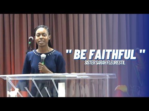 ENGLISH SERVICE | SISTER SARAH FLEURESTIL | 02/14/21
