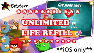 ANGRY BIRDS 2 Unlimited Lives & Hearts Trick (No Cheat / Hack)