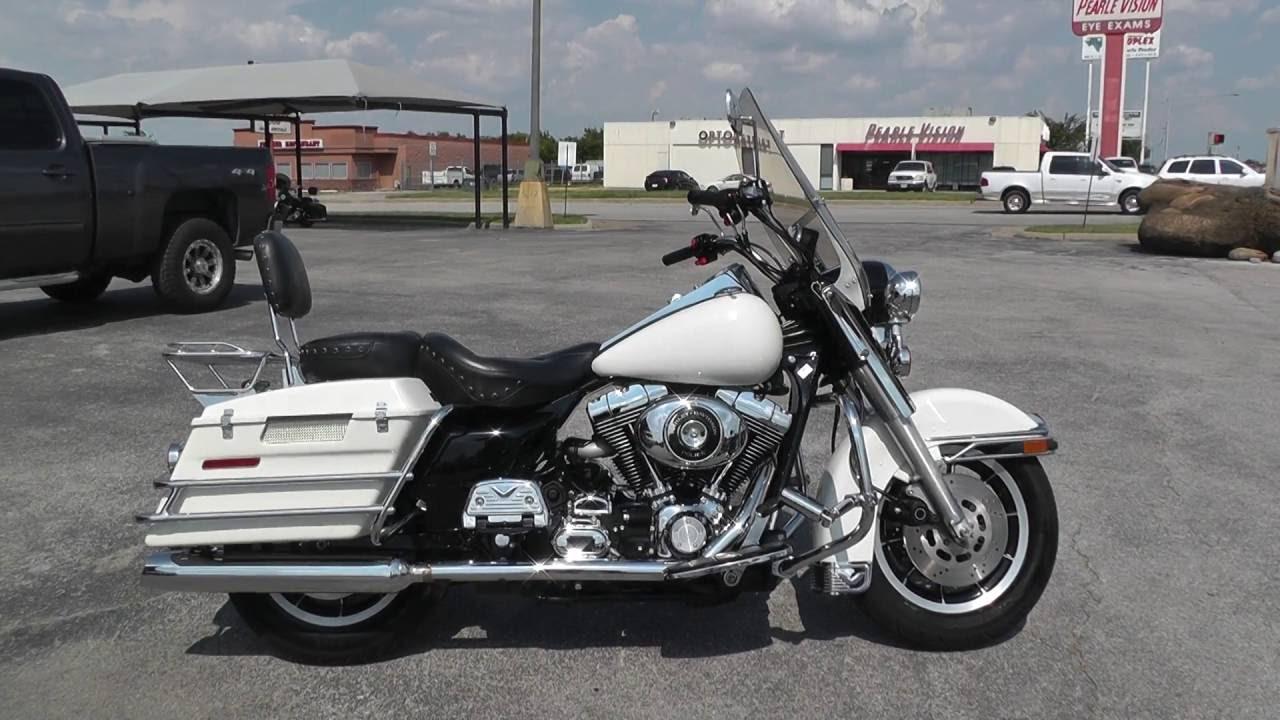 Harley Davidson Road King Police Edition For Sale