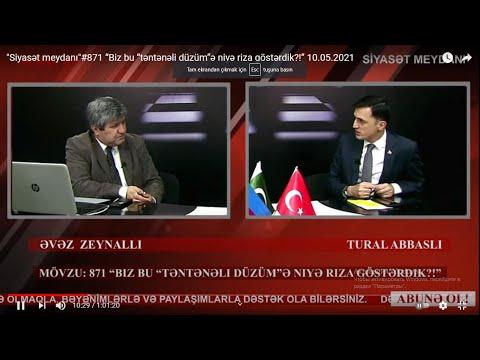 """""""Siyasət meydanı""""#871 Tural"""