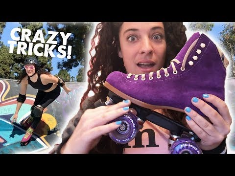 ALL THE ROLLER SKATING!