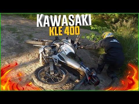 Kawasaki kle 400 видео обзор