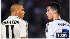 Ronaldo Feonomeno vs Cristiano Ronaldo ● The Battle For The Name ● Best Skills