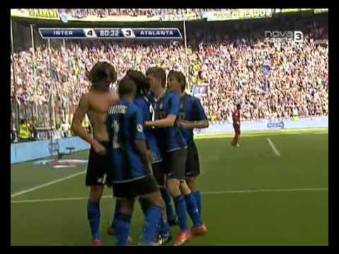 Inter 4 3 Atalanta Ibrahimovic backheel goal
