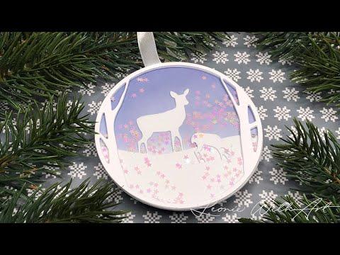 Reindeer 3D Embossing Folder Nellie Snellen Craft Folders Christmas Animals Deer