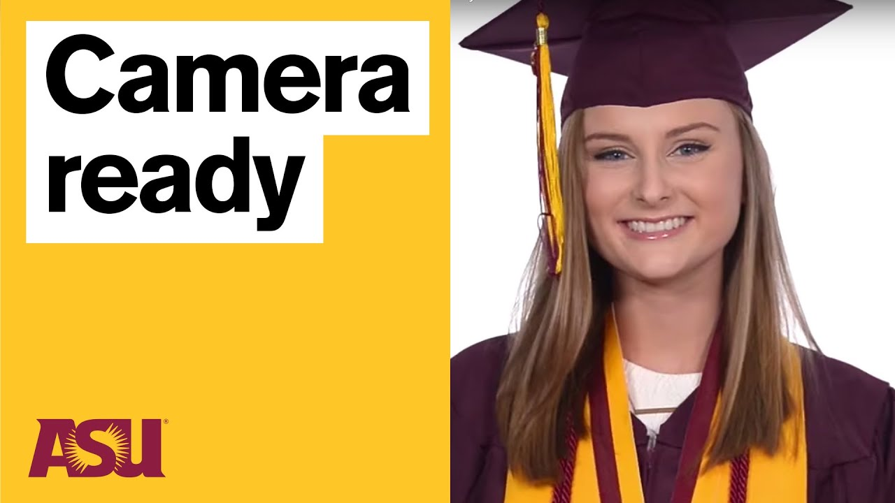 ASU Grad: How to wear your Bachelor\'s Cap and Gown - YouTube