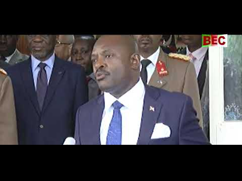 Pierre Nkurunziza Burundi Référendum 17/05/2018