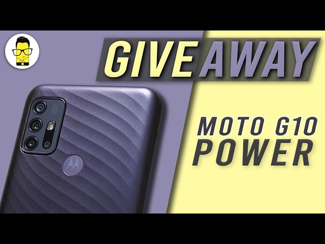 Moto G10 Power Giveaway!