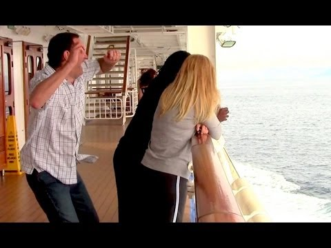 Dancing Behind People on a Cruise Ship (Ellen's Dance Dare)