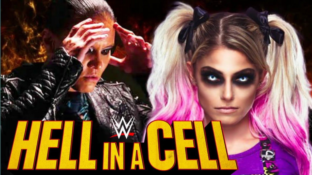 Download Alexa Bliss' vs Shayna Baszler Hell in cell 2021 Match Prediction.....Alexa Bliss Control Shayna