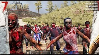 LA HORDA NOS ATACA 7 DÍA!! #5 - 7 days to die - Nexxuz