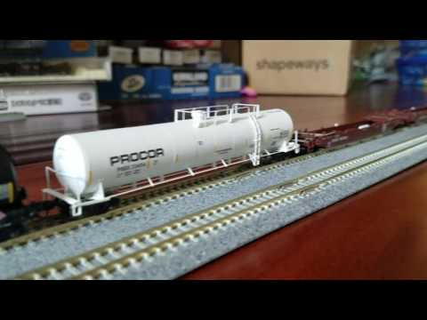 N Scale Freight 9/4/16: BERKELEY FINDS! (Athearn LPG, husky stack)