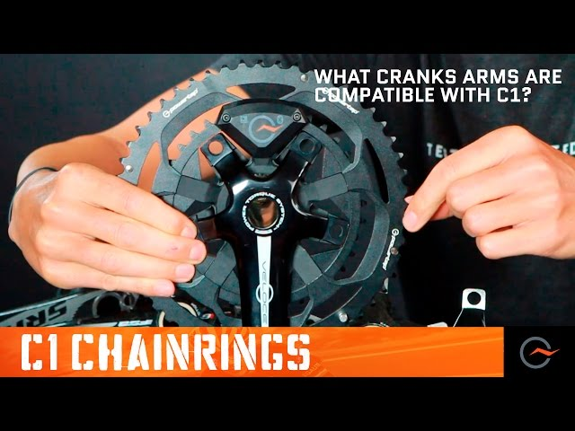 Cycling Cranks Compatible With The C1 Chainrings