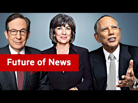 Trust and Trump: Chris Wallace, Dean Baquet and Christiane Amanpour at FT Future of News I FT