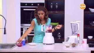 ميلك شيك موز بالتوت - سموذي بيناكولادا -رمان شيك | أميرة في المطبخ حلقة كاملة