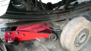 видео Усиление рессор в Москве, Додж Караван | Услуги по усилению и ремонту рессор для любых автомобилей - ДЗМ обработка
