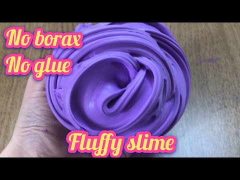 How to make slime without glue and cornstarch borax shaving cream