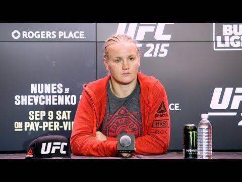 UFC 215: Valentina Shevchenko Post-Fight Press Conference – MMA Fighting