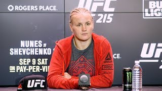 UFC 215: Valentina Shevchenko Post-Fight Press Conference - MMA Fighting