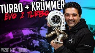 Stern Garage - Turbo + Krümmer | Mercedes Benz W201 EVO 1 M111 Turbo