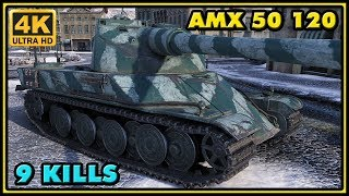 AMX 50 120 - 9 Kills - 8,5K Damage - World of Tanks Gameplay
