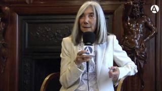 """María Kodama: """"Borges sabía gozar la vida"""""""