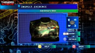 CSI: Hard Evidence WalkThrough Case 1 part 1 of 4
