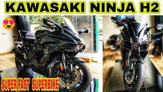 KAWASAKI NINJA H2 | SUPER BIKE | KAWASAKI WEST DELHI | JD VLOGS DELHI