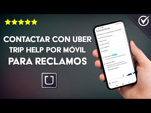 Cómo Puedo Contactar con Uber o Uber Trip Help por Teléfono para Preguntas o Reclamos