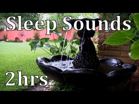 The Sound of a Water Fountain 2hrs ASMR