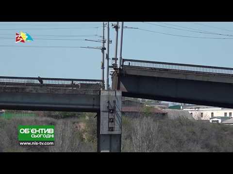 ТРК НІС-ТВ: Объектив 18 04 19 Технологическая разводка Ингульского моста