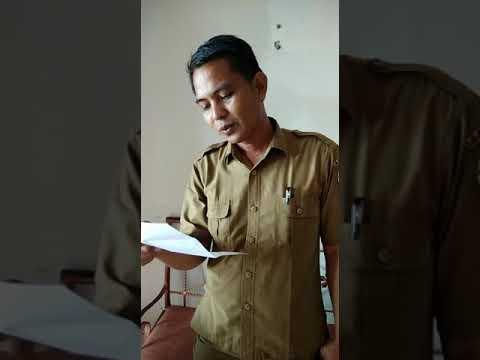 Deklarasi anti hoax dan menolak Isu Sara oleh Sdr. Adrian pegawai Dinas Pendidikan Kab. Pelalawan.