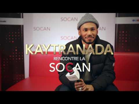 Kaytranada rencontre la SOCAN