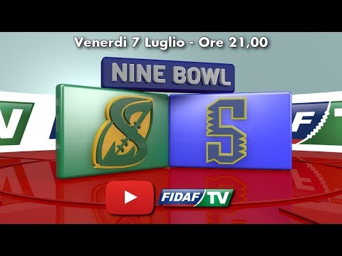 NINE BOWL: Sentinels Isonzo vs Sharks Palermo