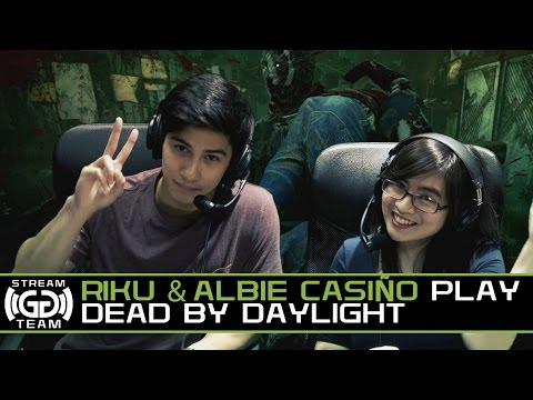 Riku and Albie Casiño Try to Survive Creepy Killers on Dead by Daylight I GG Stream Team
