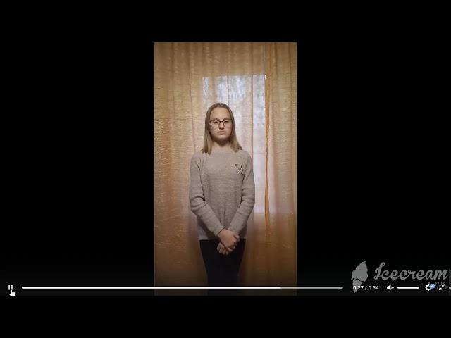 Изображение предпросмотра прочтения – АннаКостюченко читает произведение «Она сидела наполу…» Ф.И.Тютчева