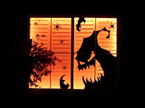 Diy Dollar Store Halloween Decor Window Display Decorate With Me