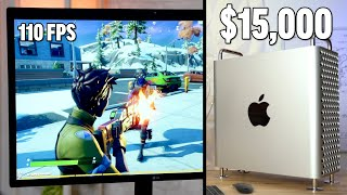 Gambar cover Gaming on a $15,000 Mac Pro! - Vega II Bootcamp