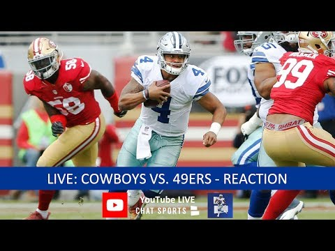 Cowboys Vs. 49ers Live Stream Reaction & Updates On Highlights From NFL Preseason Week 1