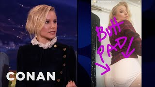 connectYoutube - Kristen Bell Likes Big Juicy Buns  - CONAN on TBS