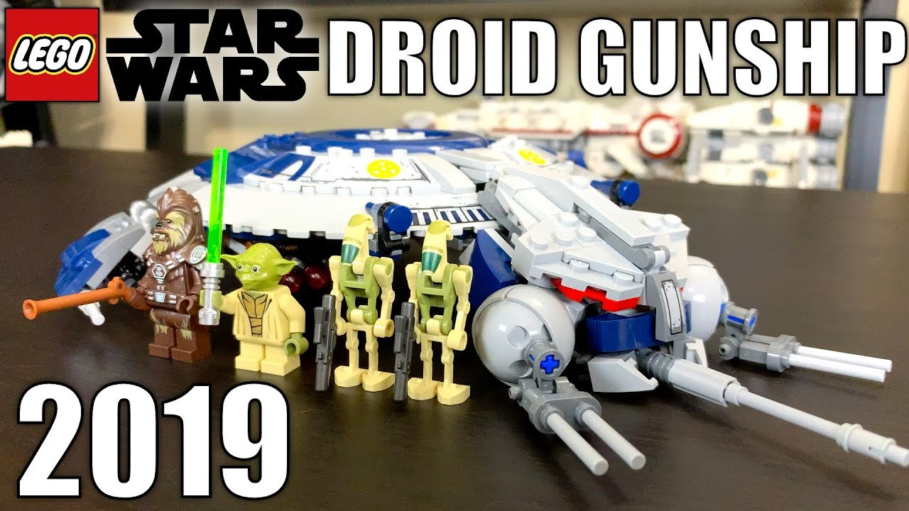 Lego Star Wars 2019 Droid Gunship Review Set 75233