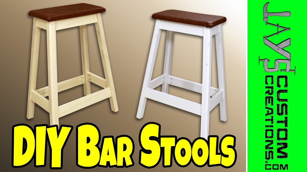 Easy DIY Bar Stool - 130 - YouTube