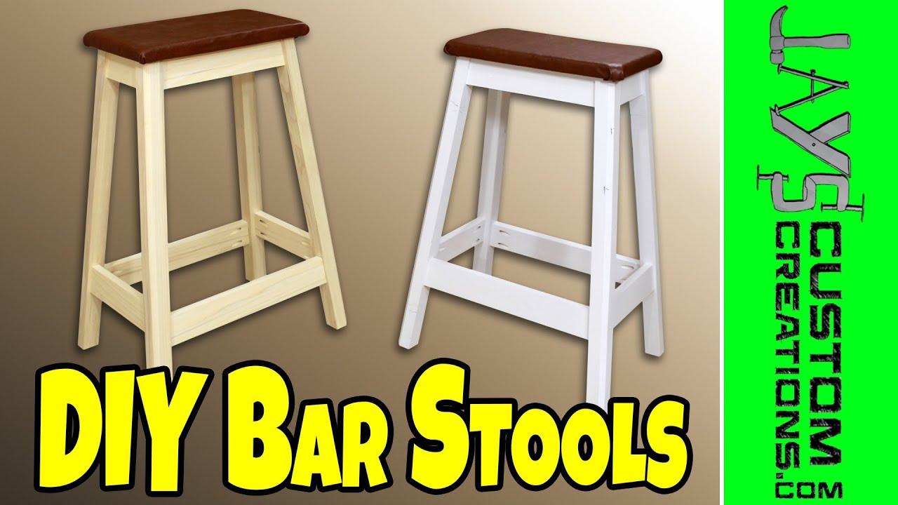 Build Diy Build A Bar Stool Plans Pdf Plans Wooden Wood