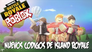ISLAND ROYALE AND ITS NEW CODES!!!! FORNITE IN ROBLOX IN LATIN ENGLISH