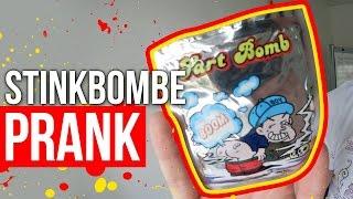 STINKBOMBE PRANK!!!   FaxxenTV