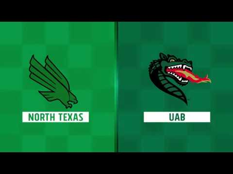 Highlights: North Texas at UAB Week 8